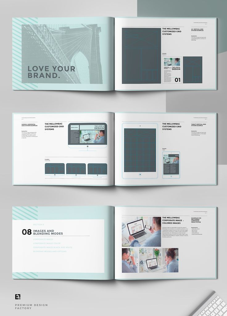 81 best Branding Guidelines images on Pinterest Corporate design - interior design brochure template