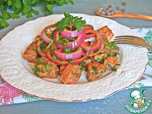 Форель в горячем маринаде - кулинарный рецепт