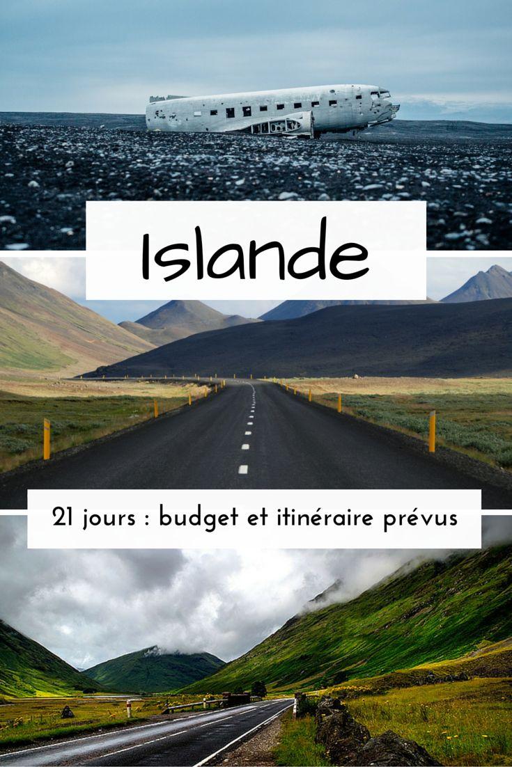 budget et itinéraire pour l'Islande