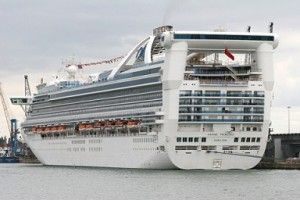 The Grand Princess Cruise Ship to Be Based in San Francisco.