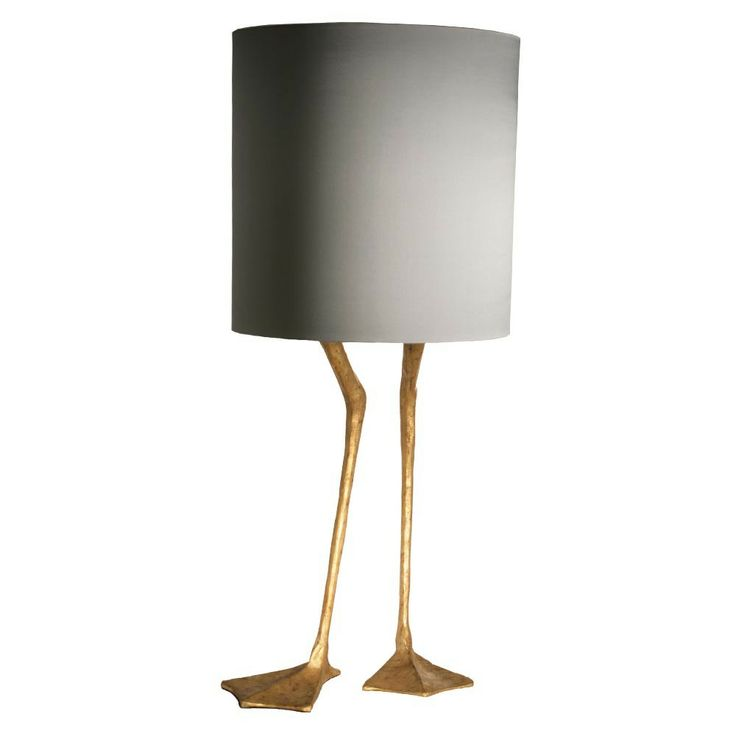 Duck Feet Lamp Decayed Gold - Height 530mm