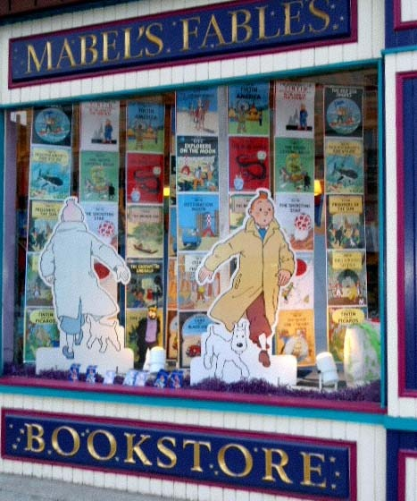 Mabel's Fables, Toronto ON.: Fabl Bookstores, Libraries Bookstores Etc, Cozy Bookstores