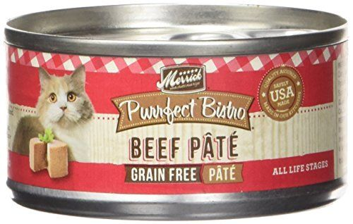 Merrick Purrfect Bistro Beef Pate Recipe Canned Cat Food 24/3-oz cans >>> Read more info by clicking the link on the image.