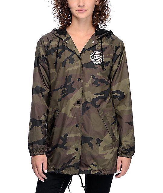 The Rue Da La Ruine camouflage coaches jacket from Obey is a forever on-trend…