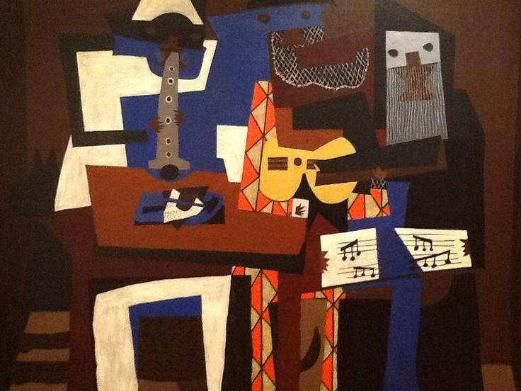 Tre suonatori - Picasso - Moma New York