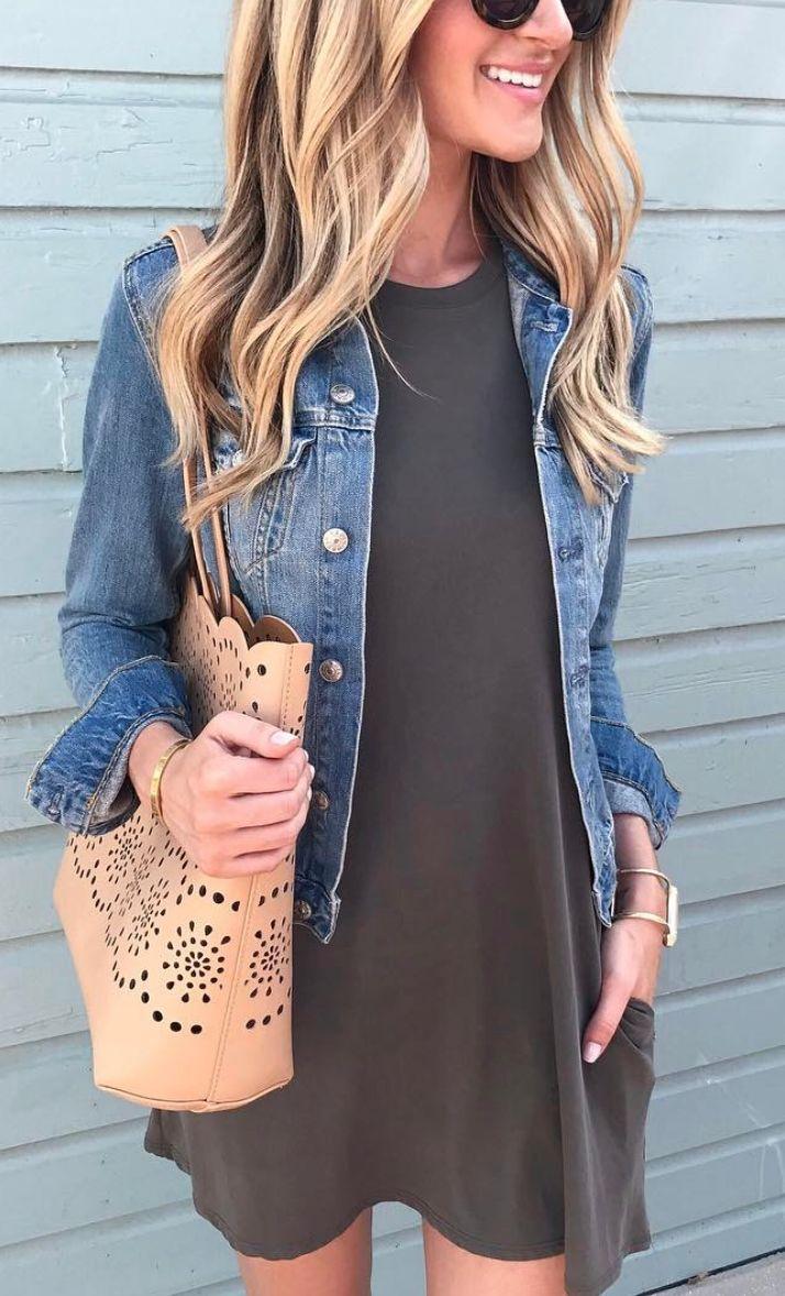Swing sleeveless dress under $40