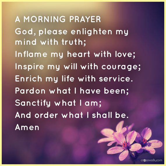Short Good Morning Quotes For Friends: A Morning #prayer In Jesus Almighty Name Amen