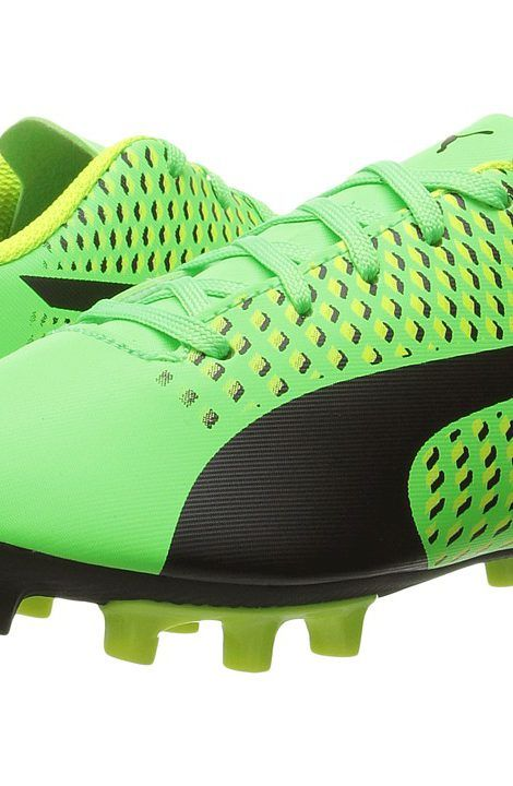 Puma Kids Adreno III FG Jr Soccer (Toddler/Little Kid/Big Kid) (Green Gecko/Puma Black/Safety Yellow) Kids Shoes - Puma Kids, Adreno III FG Jr Soccer (Toddler/Little Kid/Big Kid), 10404901-300, Footwear Closed Lace up casual, Lace up casual, Closed Footwear, Footwear, Shoes, Gift - Outfit Ideas And Street Style 2017