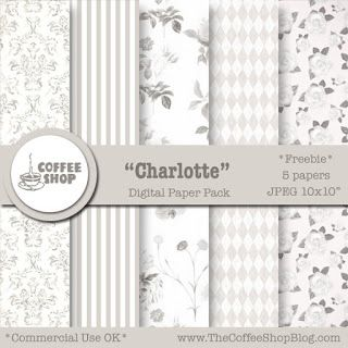 Thursday's Guest Freebies ~ The Coffee Shop Blog  ✿ Follow the Free Digital Scrapbook board for daily freebies: https://www.pinterest.com/sherylcsjohnson/free-digital-scrapbook/ ✿ Visit GrannyEnchanted.Com for thousands of digital scrapbook freebies. ✿