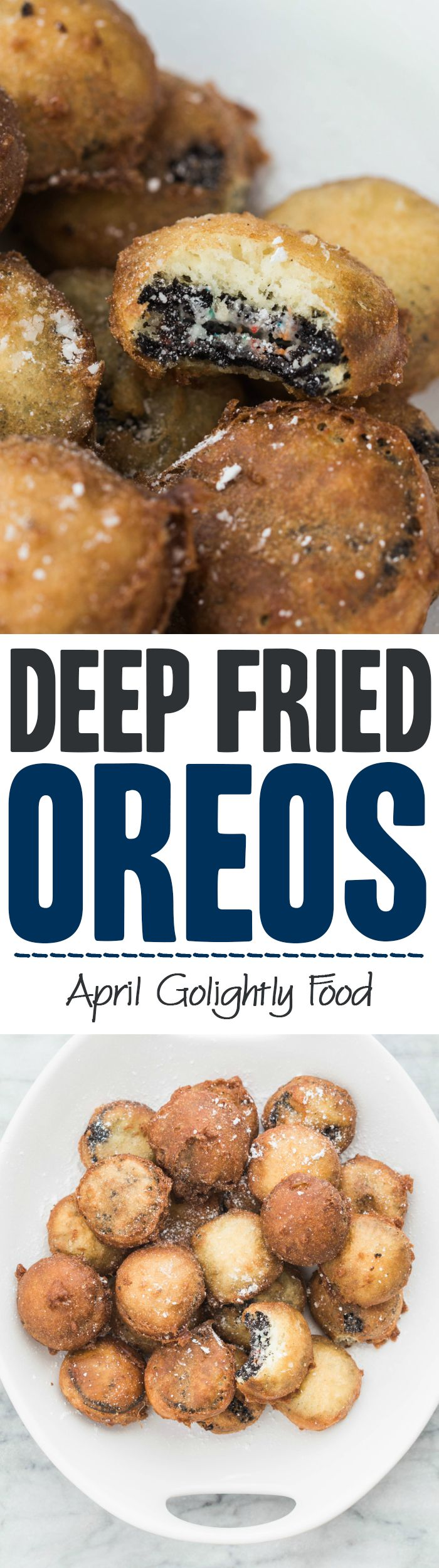 Easy Deep Fried Oreos Recipe - perfect to bring to bring as a dessert to your friend's birthday party - perfect desserts for Oreo lovers