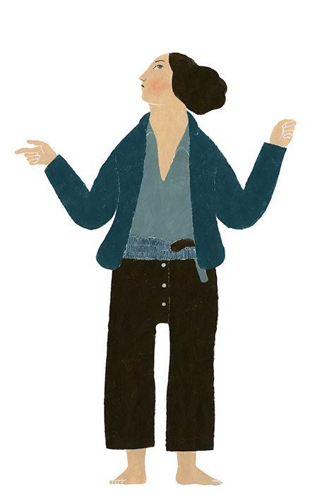 Mujeres piratas, bateleras, cargueras, sirgueras, bañistas, mitológicas... Elena Odriozola es la autora del diseño gráfico de la exposición 'Emakumeak eta itsasoa · Las mujeres y el mar' del Museo Naval de Donostia · San Sebastián.