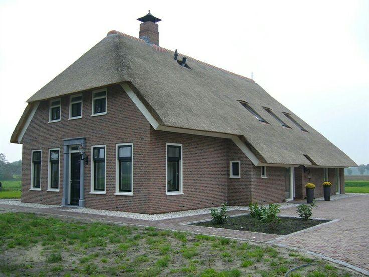 Landelijke boerderij landelijk huis woning rieten dak for Woonboerderij te koop achterhoek