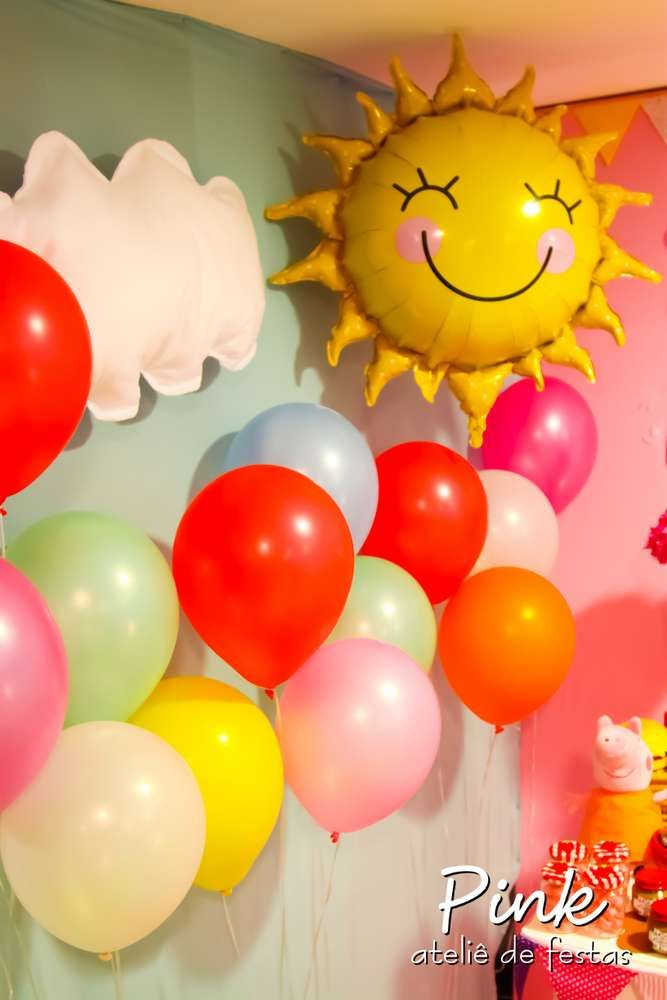 Peppa Pig Birthday Party Ideas | Photo 43 of 146 | Catch My Party