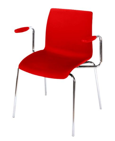 the case stack chair 4leg arms is a versatile casual seating solution built tough to