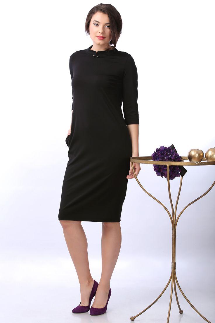 Eleganta si lejeritate  YOKKO  fall16   #black #dress #fall #daydress #fashion #women #yokkostyle