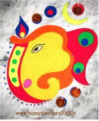 Diwali rangoli designs 10 – Marcela Spanton