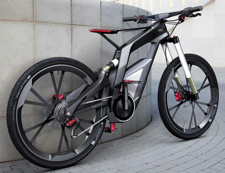 Electric Bike - Audi  I love how this looks... #performancebikeproducts