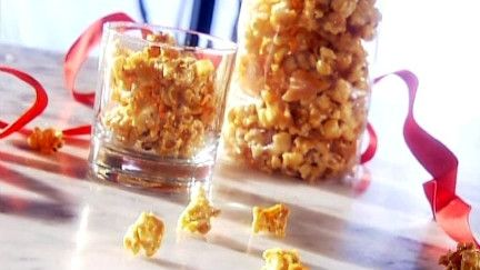 Maïs soufflé au caramel - Recettes - À la di Stasio