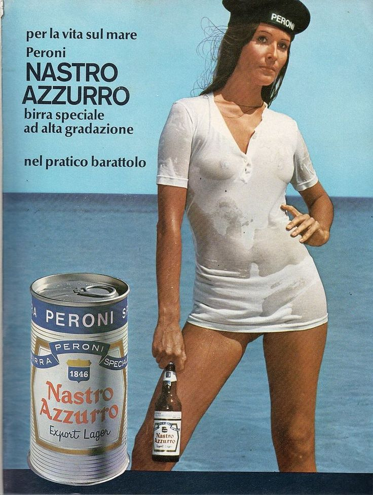 Birre nazionali: BIRRA PERONI - Pagina pubblicitaria – Anni  60