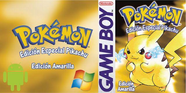 Descargar Pokemon Amarillo Rom Pokemon Juegos De Pokemon Emulador