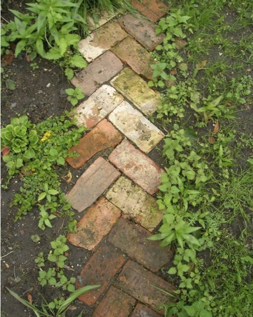 brick pattern edging