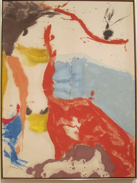 144 best images about Helen Frankenthaler on Pinterest | Helen ...