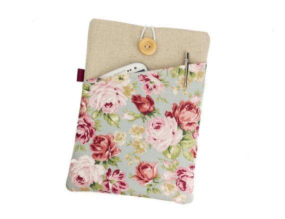 Floral iPad Air 2 sleeveiPad Air caseFloral iPad by Mangoandme
