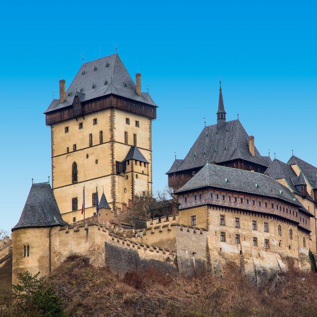"""Castle Karlstein"" by Alexander Novikov - $6.59"