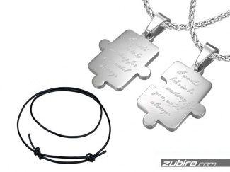 Naszyjniki dla dwojga puzzle