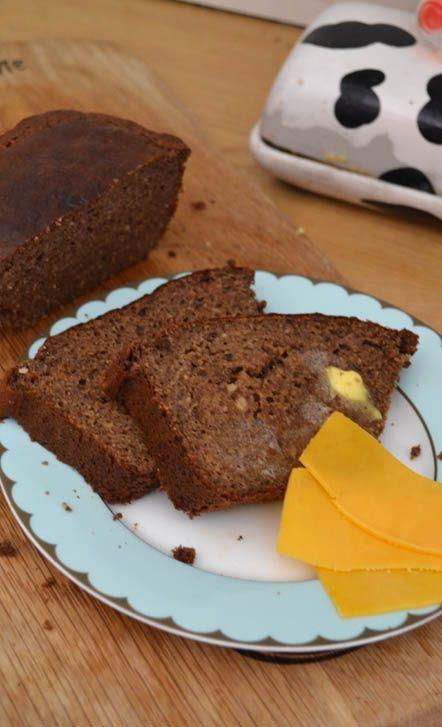 Grain and sugar free banana bread (LCHF/Banting friendly)