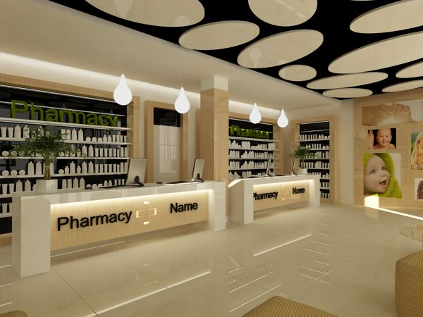 pharmacy design retail design pharmacy furniture - Pharmacy Design Ideas