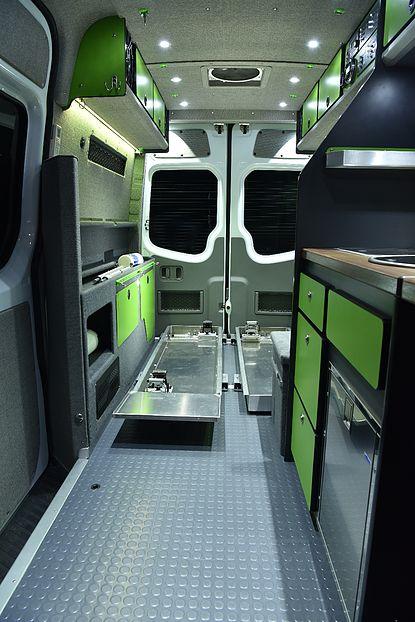 Alaska Camper Van Conversions Sprinter Camper Design