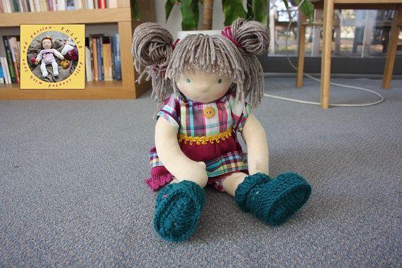 DEPOSIT 18 inch Custom Waldorf OOAK rag handmade doll