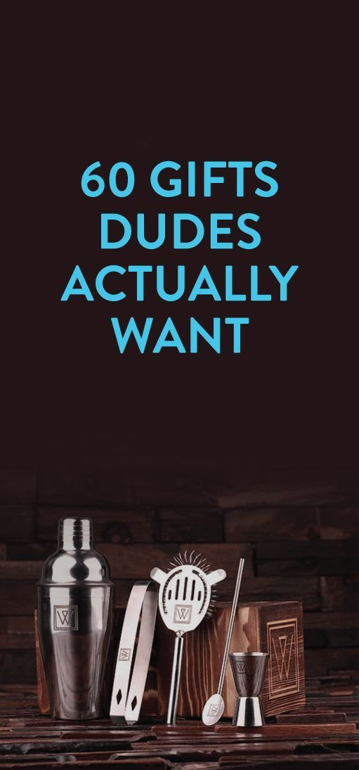 """I want most of these things... not for just """"dudes."""" Many people would love these gifts!!"""