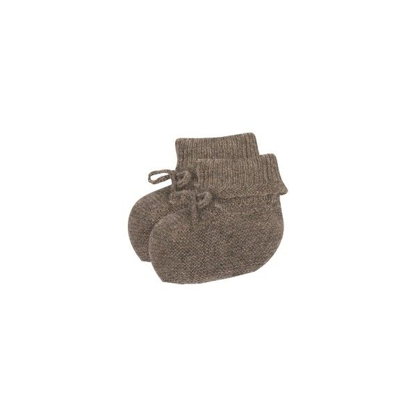Cashmere Slippers Taupe