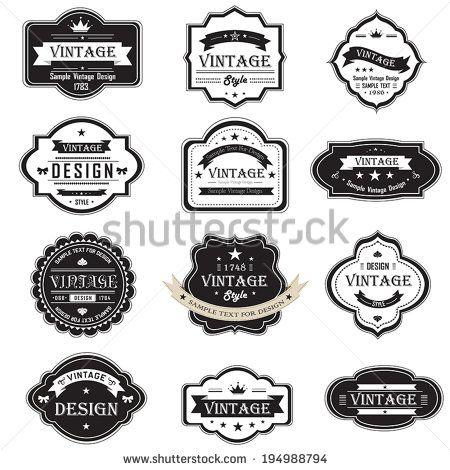 113 Best Graphic Design Vintage Type Images On Pinterest