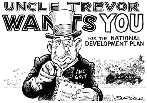 120816tt - Uncle Trevor wants you for the NATIONAL DEVELOPMENT PLAN
