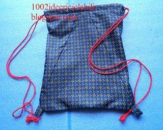 1002 idee riciclabili: zainetto ombrello