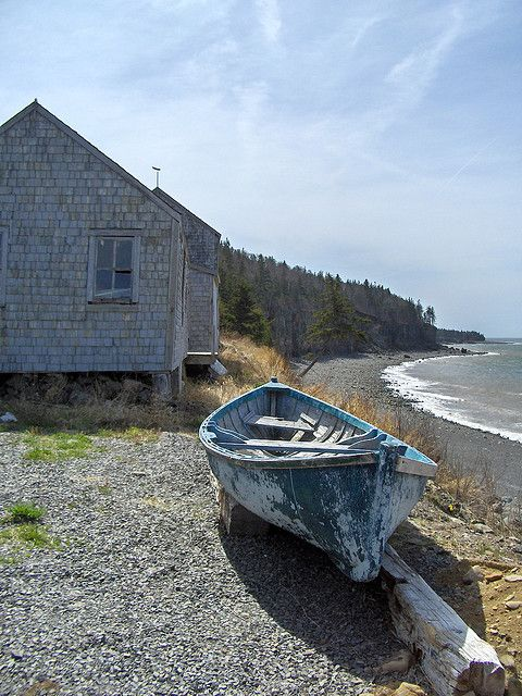 Hall's Harbor, Bay of Fundy, Nova Scotia