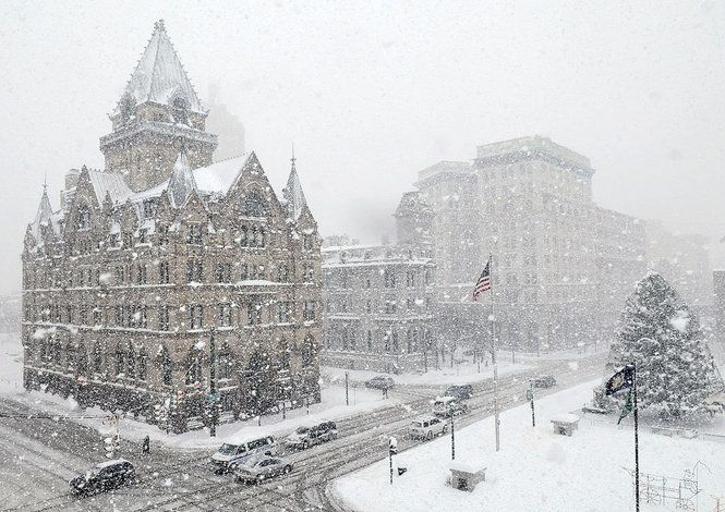 Beautiful winter pics from around the world, including our beloved Syracuse, New York! Most Beautiful Snowy Cities-Top Winter Towns