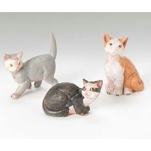 Cats, 3 pc set. 51518.