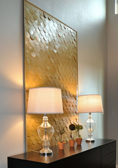 10 Do-It-Yourself Upcycled Wall Art Projects