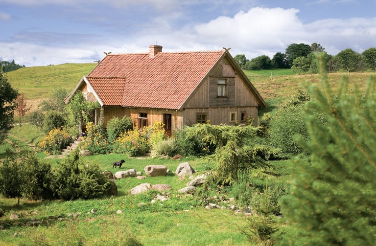 Zielone drumliny - życie na wsi - Kocham wieś -oh how great it would be to spend a hidden weekend there