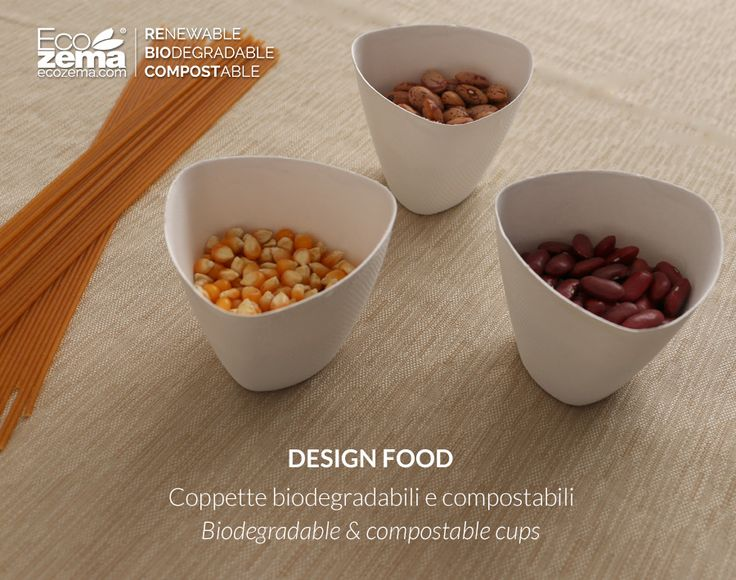 biodegradable and compostable tableware by Ecozema - Respecting the environment does not imply giving up appealing product aesthetics. #green #tableware #disposable #monouso #compostabile #design #recycle #reuse #reduce #stoviglie #cup #coppetta #ecofriendly #biodegradabile #vassoi #trays #compostable #biodegradable #ecozema