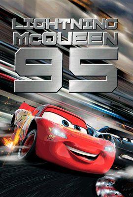 3Dポストカード カーズ3/クロスロード 001 Lightning McQueen S3760