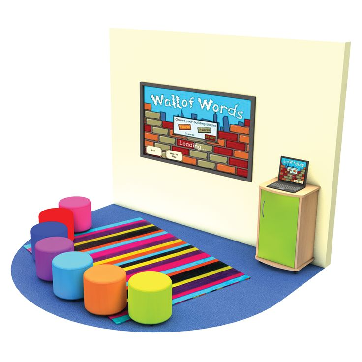 Rainbow Teaching Corner for Classrooms and Libraries