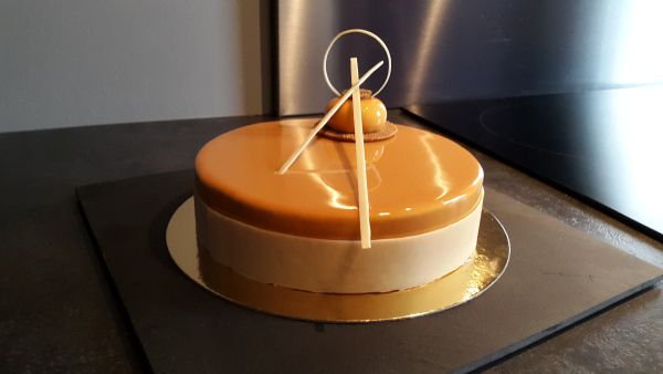 Entremet Caramel et Vanille – Les desserts de Julien