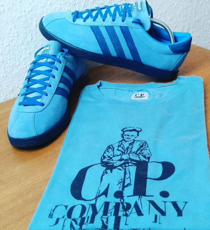 Tahiti and CP Company t-shirt are a great match up..