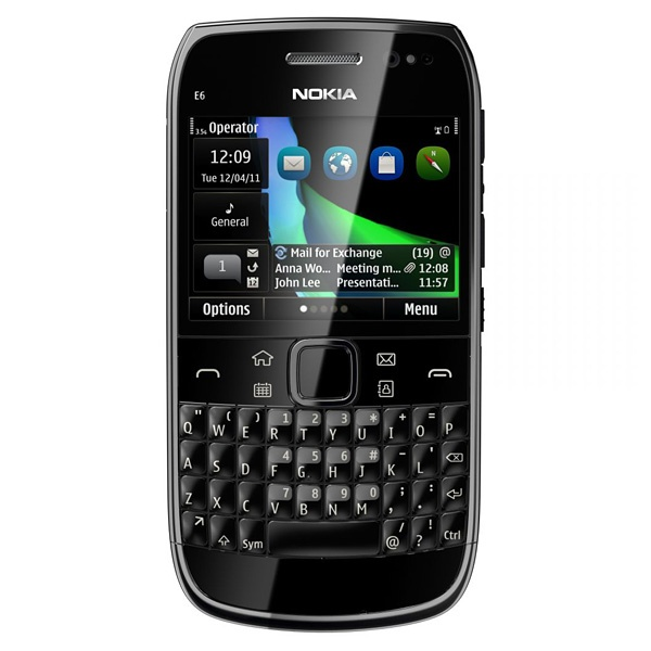 The beautiful and powerful Nokia E6. Back in stock, just $359 after coupon.