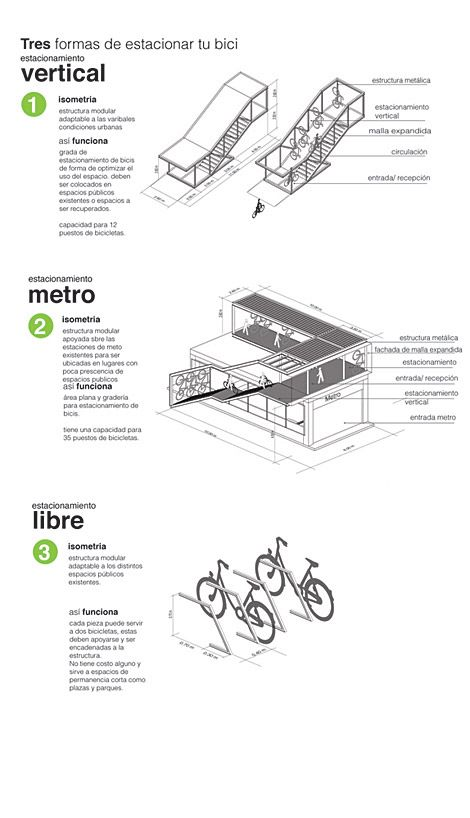 Winning Entry of Bike Path Design Contest in Caracas, Venezuela